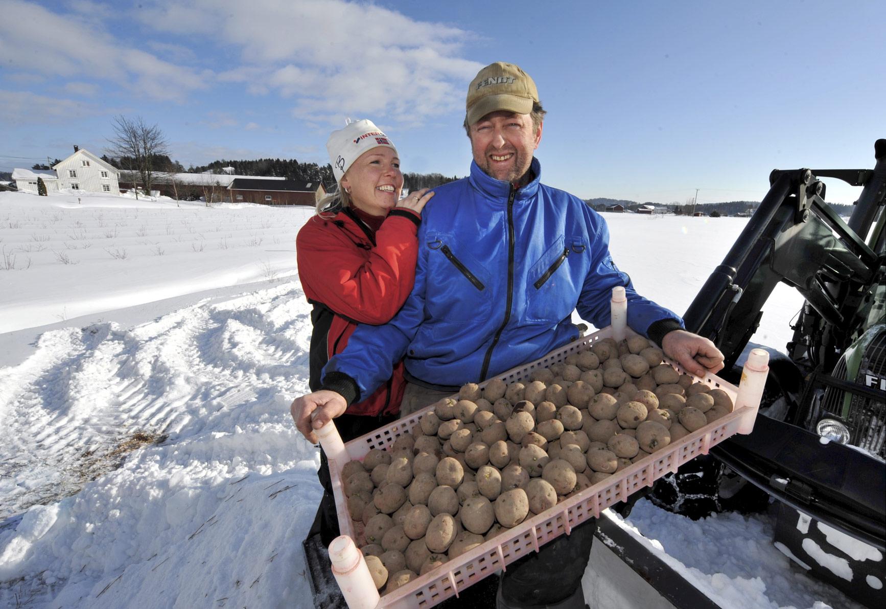 Gurine og Knut-Ove