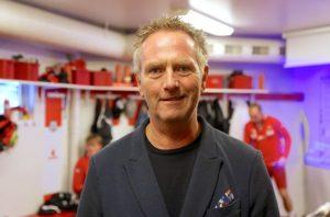 Nils Steinsland, bonde og styreleder i Bryne FK.